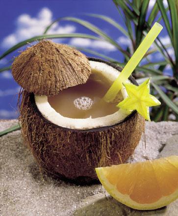 Rezept für den tropischen Eistee Coconut Dream - Foto: Wirths PR