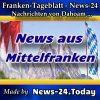 News-24 - Franken - Mittelfranken - Aktuell -