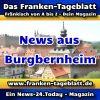 News-24 - Today - Franken - Burgbernheim - Aktuell -