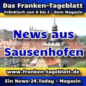 News-24 - Today - Franken - Sausenhofen - Aktuell -