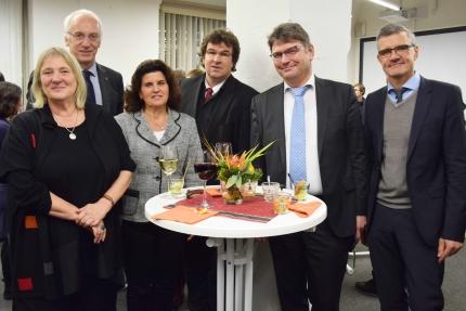 v.l.: Birgitt Hoffmann, Markus Behmer, Beate Lindner, Rainer Tri