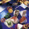Snack-Rezept: Pikante Käse-Ecken (Vegetarier geeignet) - Foto: Wirths PR