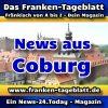 News-24 - Today - Franken - Coburg - Aktuell -