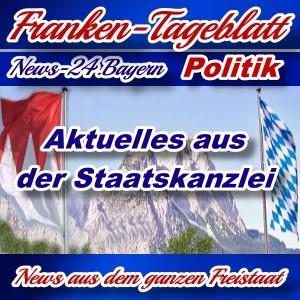 Neues-Franken-Tageblatt - Aktuelles aus der Staatskanzlei -