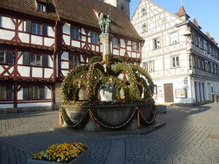 Kriegerbrunnen in Forchheim - Quelle: Stadt Forchheim