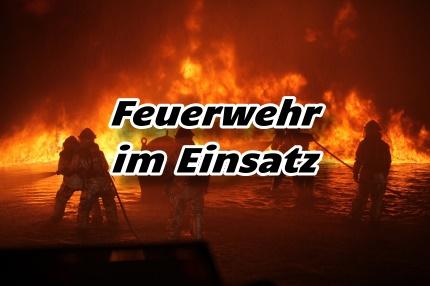 Feuerwehr im Einsatz -