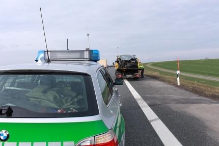 Unfalleinsatz-für-die-Polizei-