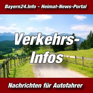 Bayern24 - Bayern-Tageblatt - Verkehrshinweise -