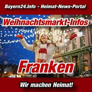 Bayern24 - Bayern-Tageblatt - Weihnachtsmarkt-Info - Franken - -
