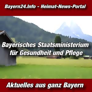 Bayern24-Bayern-Tageblatt-Bayerisches Staatsministerium für Gesundheit und Pflege-